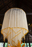 Grote slingersbloem Lanna Style in Thailand Stock Afbeeldingen