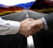 Grote snelle overeenkomst royalty-vrije stock fotografie