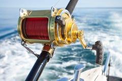 Grote spel visserij Royalty-vrije Stock Fotografie