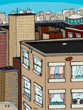 Grote Stad Stock Afbeelding