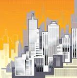 Grote Stad. Stock Afbeeldingen