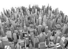 Grote stad Stock Afbeeldingen