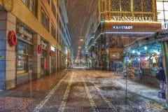 Grote Stadslichten, Darmstadt Stock Fotografie