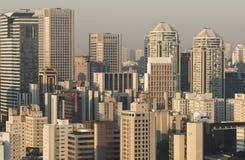 Grote steden royalty-vrije stock foto's