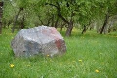 Grote steen Royalty-vrije Stock Fotografie