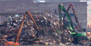 Grote stortplaats Stock Foto