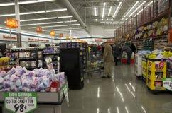 Grote supermarkt royalty-vrije stock afbeeldingen