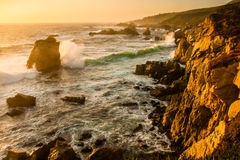 Grote Sur Coastine Royalty-vrije Stock Afbeelding
