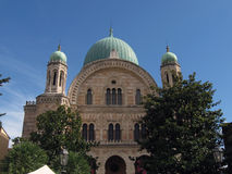 Grote Synagoge van Florence Royalty-vrije Stock Fotografie