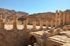 Grote Tempel, Petra Stock Fotografie