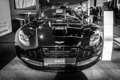 Grote tourerauto Aston Martin DB11, 2016 Stock Foto's