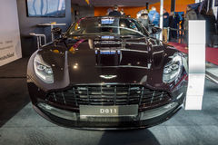 Grote tourerauto Aston Martin DB11, 2016 Royalty-vrije Stock Fotografie