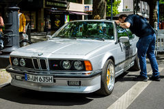Grote tourercoupé BMW M635 CSi, 1984 Stock Foto