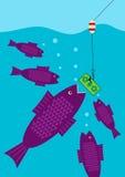 Grote Vangst royalty-vrije illustratie