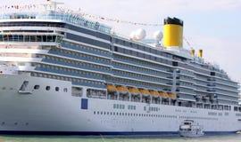 Grote veerboot Royalty-vrije Stock Afbeelding