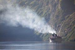 Grote veerboot Stock Afbeeldingen