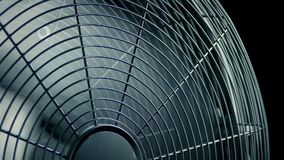 Grote Ventilator Lopende Close-up stock videobeelden