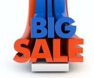 Grote verkoop Stock Fotografie