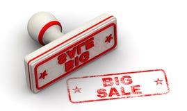 Grote verkoop Verbinding en afdruk royalty-vrije illustratie
