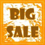 Grote verkoopaffiche Stock Afbeeldingen