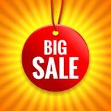 Grote verkoopmarkering Stock Fotografie