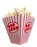 Grote Vette Doos Popcorn Royalty-vrije Stock Foto