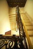 Grote vloer in luxehotel Stock Afbeeldingen