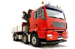 Grote vrachtwagen Stock Afbeelding