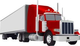 Grote vrachtwagen Royalty-vrije Stock Foto's