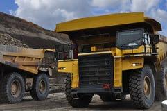 Grote Vrachtwagen Stock Fotografie