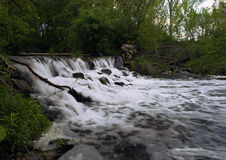 Grote waterval Stock Afbeelding