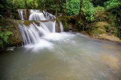 Grote Waterval in Thailand Royalty-vrije Stock Foto's