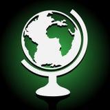 Grote Wereldbol groot voor om het even welk gebruik, Vectoreps10 Stock Afbeelding
