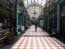 Grote Westelijke Arcade, Birmingham, Engeland stock fotografie