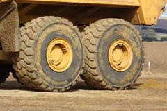 Grote wielen Stock Foto's