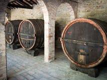 Grote Wijnvatten Royalty-vrije Stock Fotografie