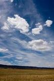Grote witte wolken Stock Afbeelding
