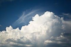 Grote wolk Royalty-vrije Stock Foto