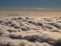 Grote wolken Royalty-vrije Stock Foto's