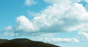 Grote wolken Stock Foto