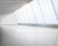 Grote zaal vector illustratie