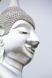 Grote zilveren Boedha Stock Afbeeldingen