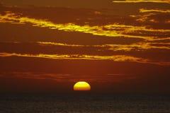 Grote zon stock afbeelding