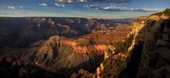 Grote Zonsondergang Stock Afbeeldingen