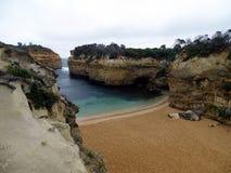 Grote Zuidelijke Oceaan in Victoria, Australië Stock Afbeelding