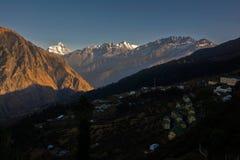 Groter Himalayagebergte stock fotografie