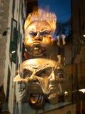 Groteske maskers Stock Afbeelding