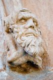 Grotesque. A grotesque adorns the entrance to the Adelaide gaol royalty free stock photo