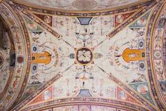 Grotesque Fresco Palazzo Vecchio - Florence Stock Images