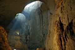 Grotta` ögonen av gud`, Fotografering för Bildbyråer